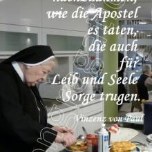 Nr. 513 / Motiv: Schwestern im Konvent Katharina backen Waffeln
