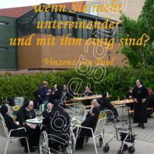 Nr. 532 / Motiv: Grillfest auf dem Mutterhaus-Hof