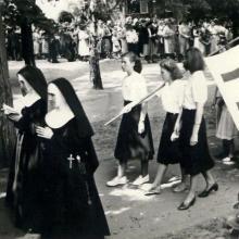 Fronleichnams-Prozession 1950