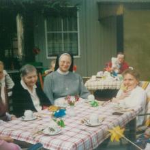 St. Marienstift in Lindau: Sommerfest mit Schwester Helga (1991)
